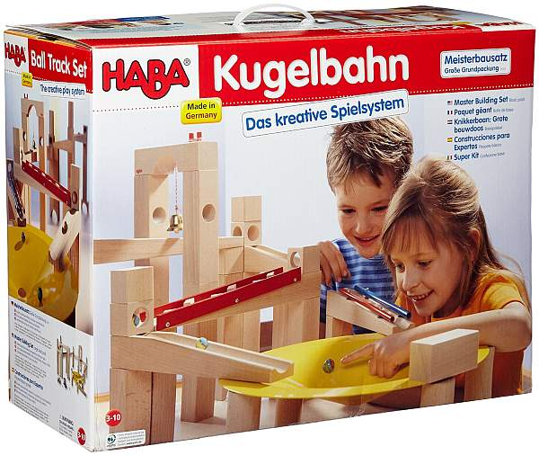 Kugelbahn Holz FUr Erwachsene ~ Test Meisterbausatz Kugelbahn Haba 3524